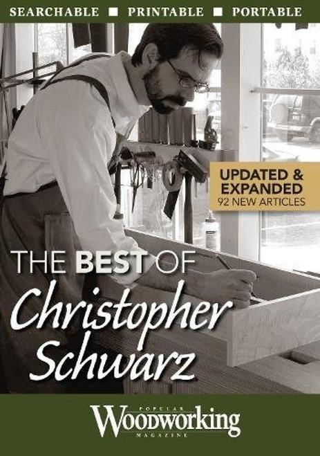 The Best of Christopher Schwarz Popular Woodworking CD