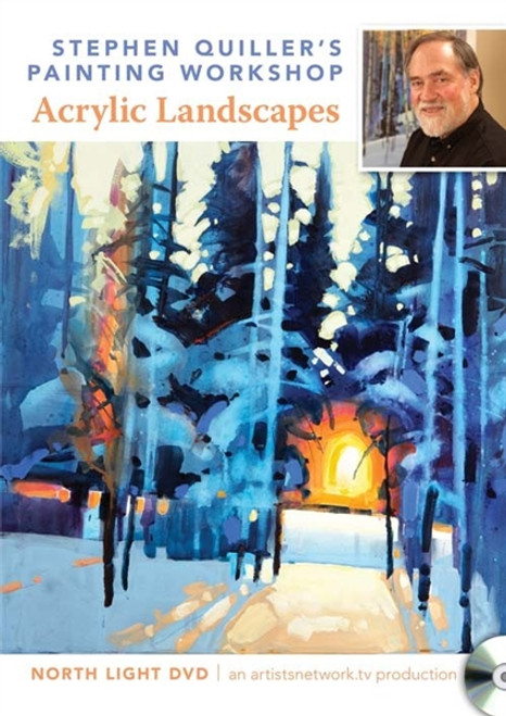 Stephen Quiller's Painting Workshop - Acrylic Landscapes DVD