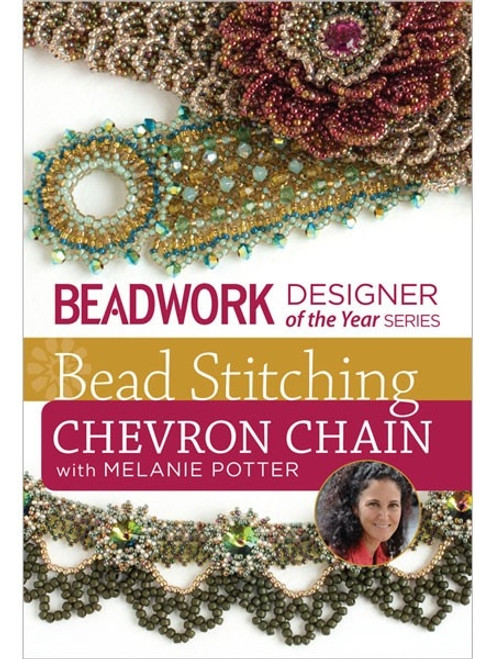 Bead Stitching Chevron Chain with Melaine Potter DVD