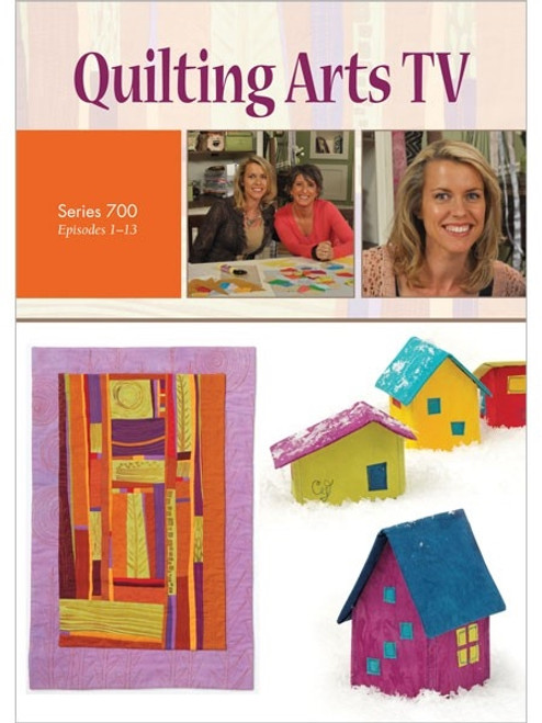 Quilting Arts TV Series 700 with Pokey Bolton DVD