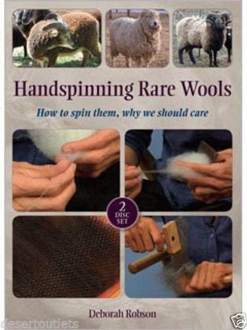 Handspinning Rare Wools with Deborah Robson DVD