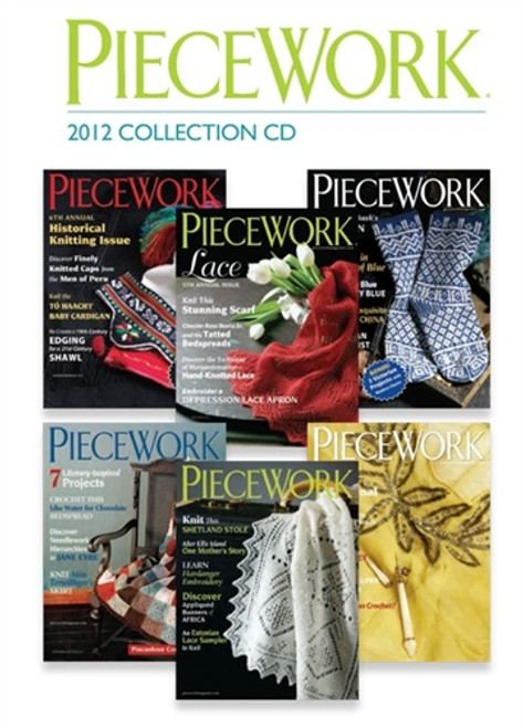 PieceWork Magazine 2012 Collection CD 6 Issues