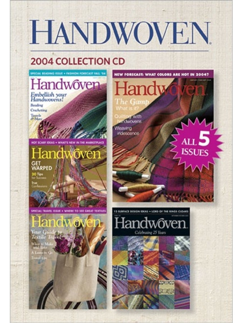Handwoven Magazine 2004 Collection CD 5 Issues
