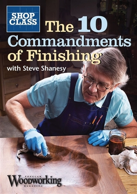 The 10 Commandments of Finishing by Steve Shanesy DVD