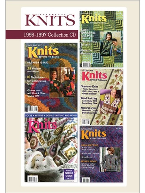 Interweave Knits Magazine 1996-1997 Collection CD 5 Issues