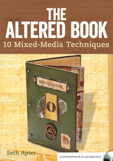 The Altered Book - 10 Mixed Media Techniques with Seth Apter DVD
