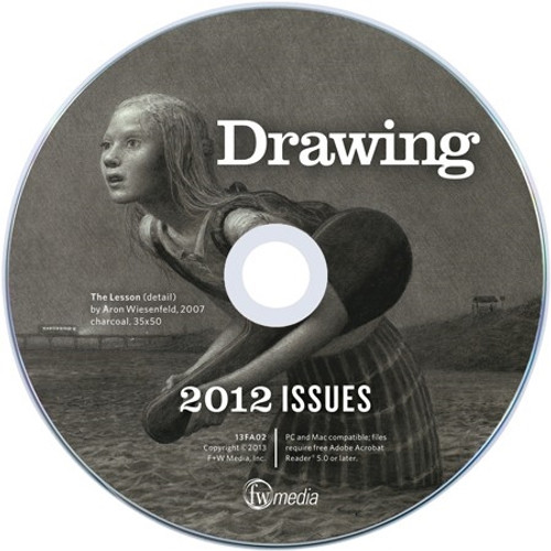 Drawing Magazine 2012 Annual CD 4 Issues
