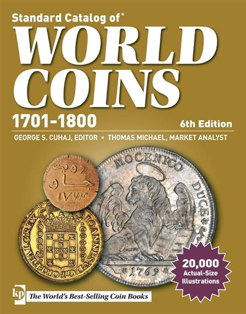 Standard Catalog of World Coins 1701-1800 by George S. Cuhaj & Thomas Michael CD