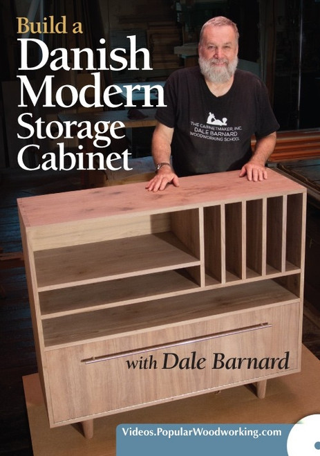 Build a Danish Modern Storage Cabinet with Dale Barnard DVD