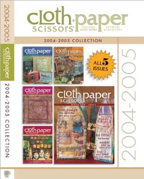 Cloth-Paper Scissors 2004-2005 Collection CD 5 Issues