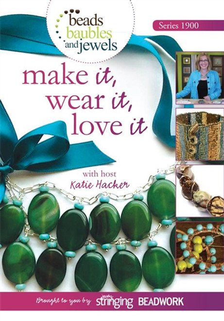 Beads Baubles and Jewels TV Series 1900 with Katie Hacker DVD