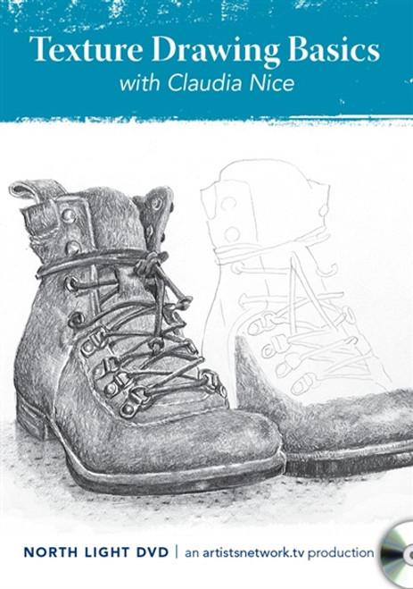 Texture Drawing Basics with Claudia Nice DVD