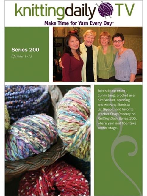 Knitting Daily TV Series 200 With Eunny Jang - DVD - knittingdaily (9781596681651)