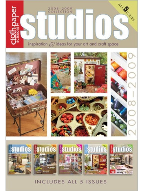Studios Magazine 2008-2009 Collection CD 5 Issues
