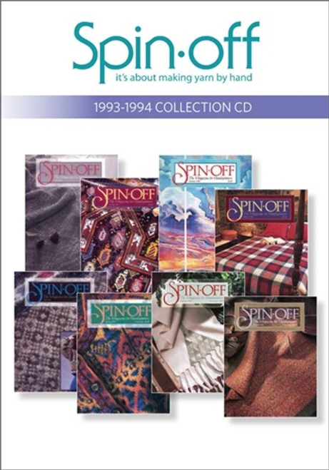 Spin-off Magazine 1993-1994 Collection CD 8 Issues