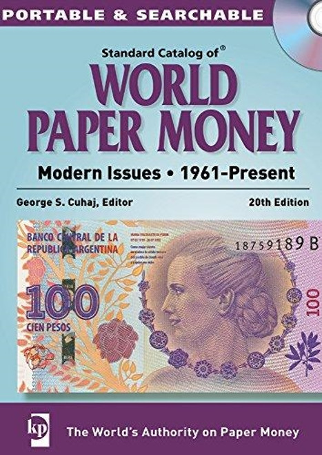 2015 Standard Catalog of World Paper Money By George S. Cuhaj CD