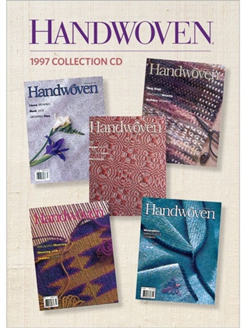 Handwoven Magazine 1997 Collection CD 5 Issues