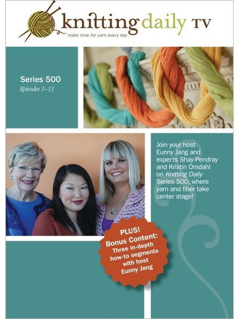 Knitting Daily TV Series 500 with Eunny Jang DVD 4-Disc Set