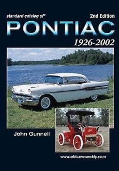 Standard Catalog of Pontiac 1926-2002 by John Gunnell CD