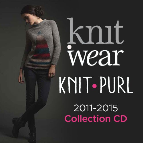 Knit.Wear & Knit.Purl Magazine 2011-2015 Collection CD 9 Issues (9781632505408)