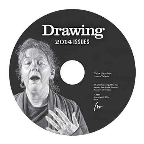 Drawing Magazine 2014 Annual CD 4 Issues