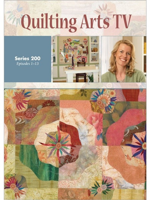 Quilting Arts Tv Series 200 With Patricia Pokey Bolton Dvd