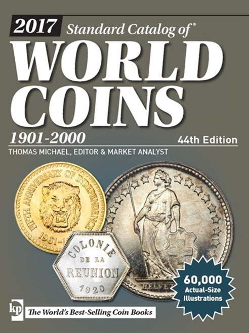 2017 Standard Catalog of World Coins 1901-2000 By Thomas Michael CD 44th Edition