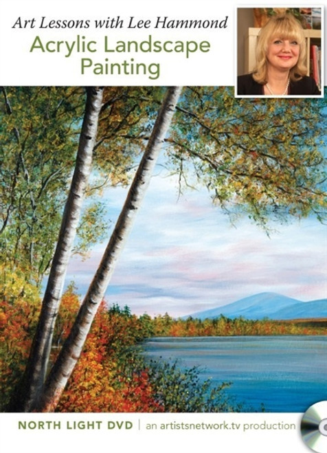 Art Lessons with Lee Hammond - Acrylic Landscape Painting DVD