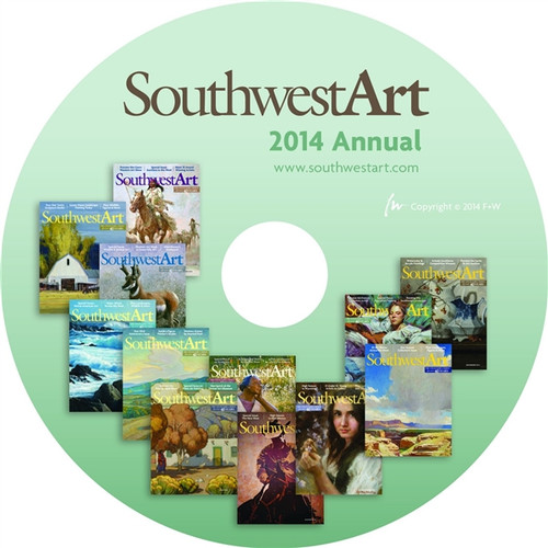 Southwest Art Magazine 2014 Annual CD