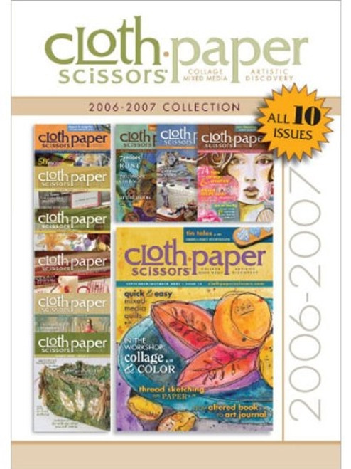 Cloth-Paper Scissors 2006-2007 Collection CD 10 Issues