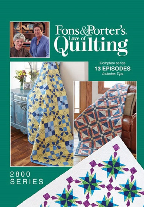 Fons & Porter's - Love of Quilting Complete Series 2800 13 Episodes
