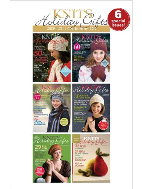 Interweave Knits 2006-2011 Holiday Gifts Collection CD 6 Issues