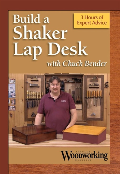 Build a Shaker Lap Desk with Chuck Bender DVD - 9781440335105