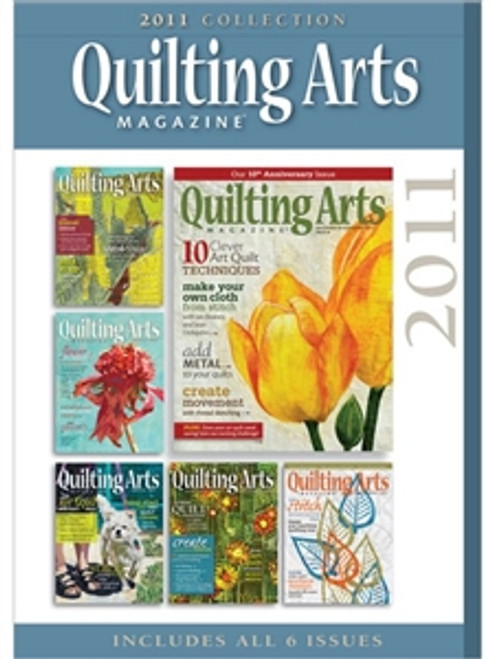 Quilting Arts Magazine 2011 Collections CD 6 Issues