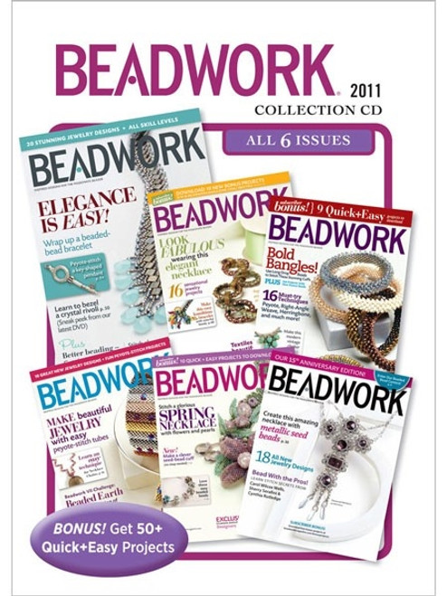 Beadwork Magazine 2011 Collection CD 6 Issues