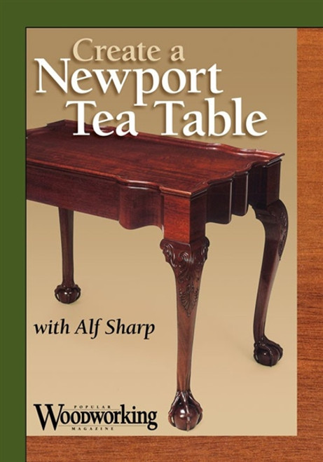 Create a Newport Tea Table with Alf Sharp DVD