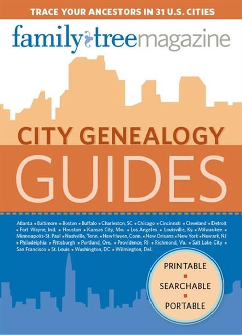 City Genealogy Guides CD