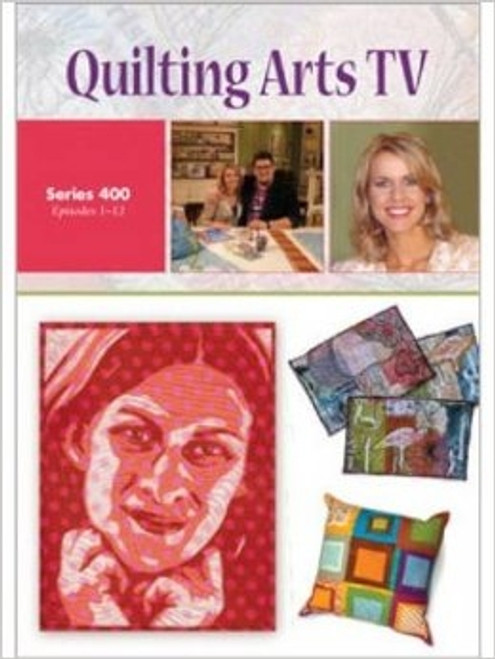 Quilting Arts TV Series 400  With Patricia Pokey Bolton DVD