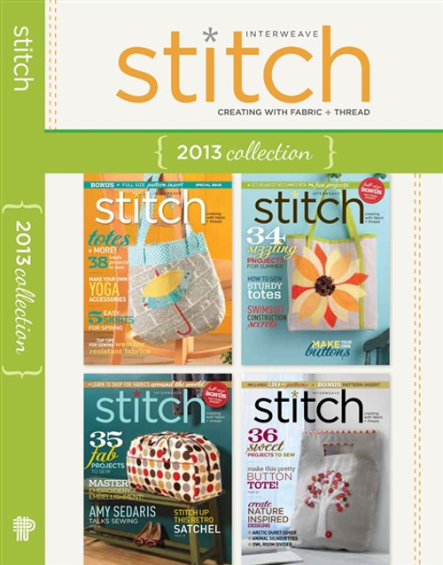 Stitch Magazine 2013 Collection CD 4 Issues