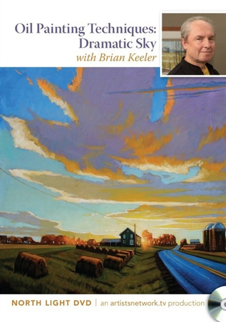 Oil Painting Techniques Dramatic Sky with Brian Keeler DVD
