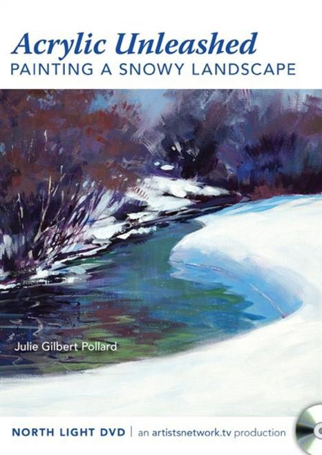 Painting a Snowy Landscape With Julie Gilbert Pollard DVD