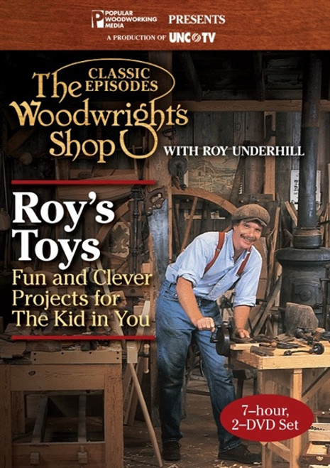 The Woodwright's Shop - Roy's Toys with Roy Underhill DVD