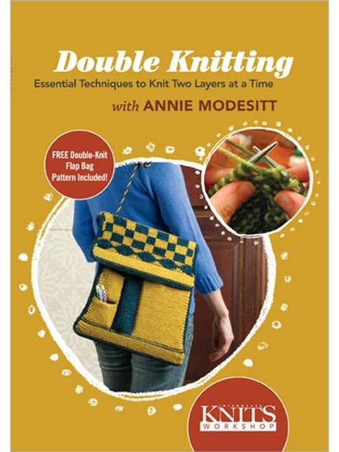 Interweave Knits Workshop - Double Knitting with Annie Modesitt DVD