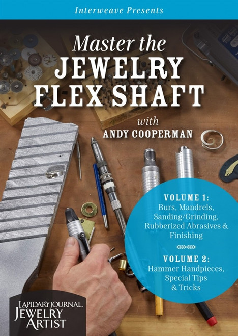 Master the Jewelry Flex Shaft Volume 1 & Volume 2 with Andy Cooperman DVD