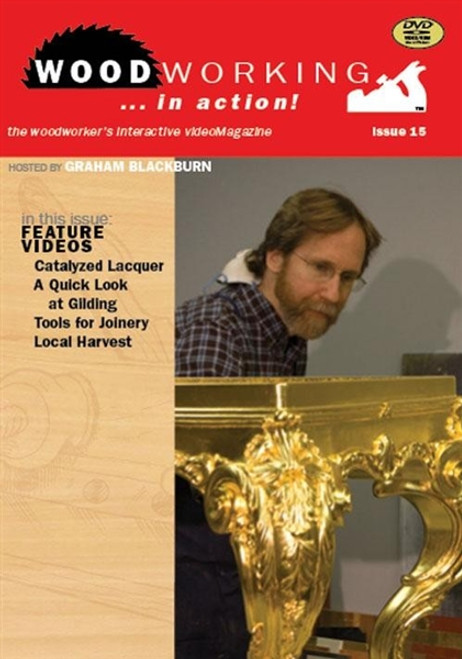 Woodworking in Action with Graham Blackburn DVD Issue 15