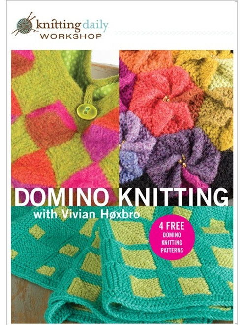 Knitting Daily Workshop - Domino Knitting with Vivian Hoxbro DVD