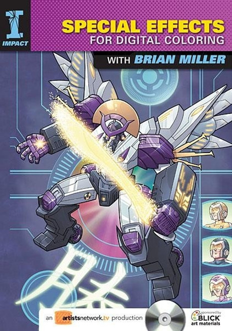 Special Effects for Digital Coloring with Brian Miller DVD