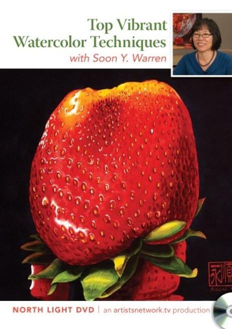 Top Vibrant Watercolor Techniques with Soon Warren DVD