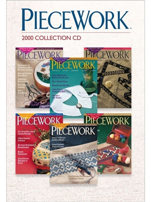 PieceWork Magazine 2000 Collection CD 6 Issues