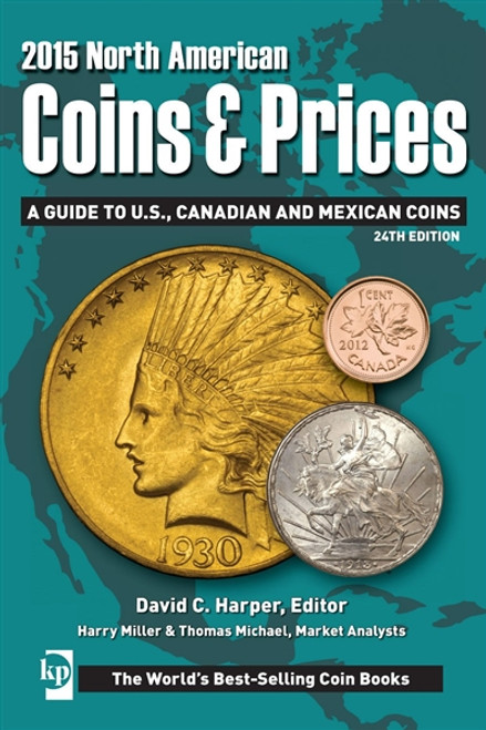 2015 North American Coins & Prices By David C. Harper CD